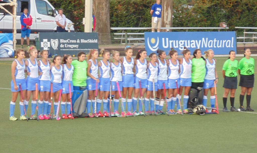 Selección uruguaya femenina de Hockey sobre césped.