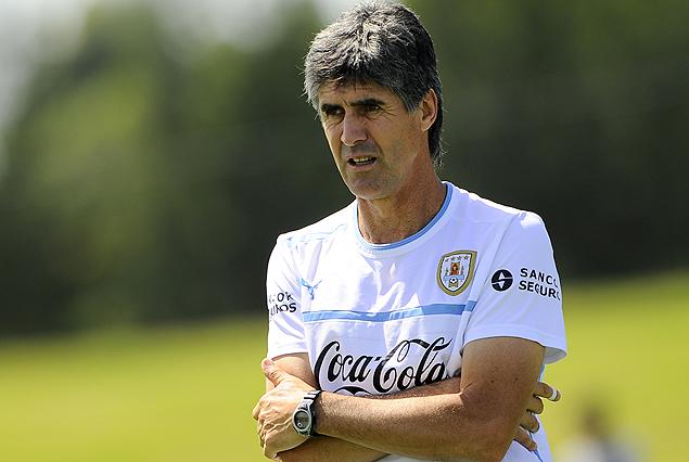 Santiago Ostolaza ajustando los últimos detalles para el Sudamericano Sub 17.