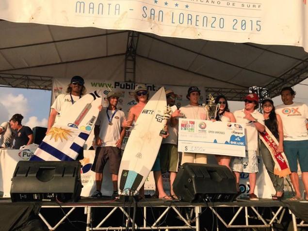 Otro podio para Lucas Madrid, es el cuarto en Ecuador a nivel latino. Foto: archivo personal