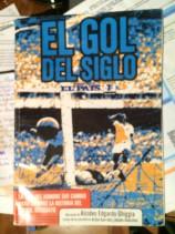 Portada del libro biográfico de Ghiggia escrito por el autor de esta nota y Joselo González.