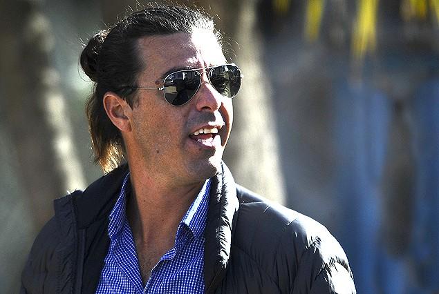 Alejandro Lembo, gerente deportivo de Nacional, viajò con los triclores a la gira por Buenos Aires,.