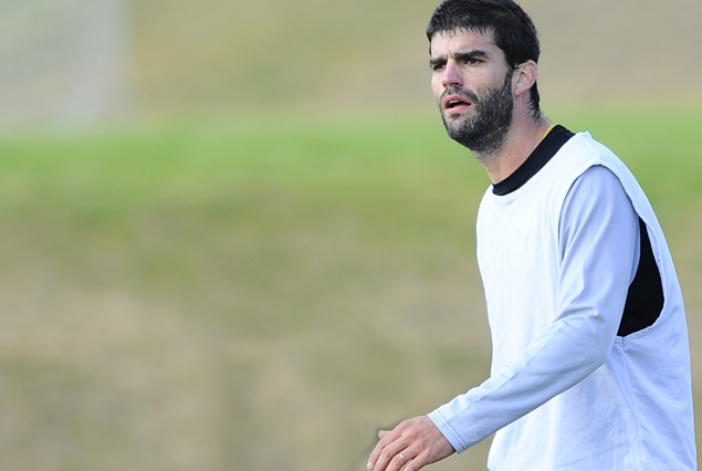 Agustín Viana fue titular el martes en Villa Domínico ante Independiente.