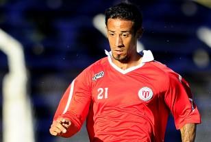 """Jonathan """"Rayo"""" Ramírez jugó ante Basáñez el lunes de tarde con el alternativo que perdió ante Basáñez."""