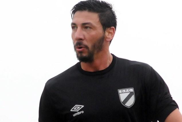 Juan Manuel Olivera, autor del único gol de los titulares en City Bella ante Estudiantes 1:0.
