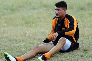 Nicolás Royón en duda para el miércoles.