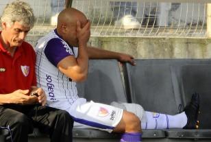 El volante Raúl Ferro salió golpeado el sábado en Capurro.