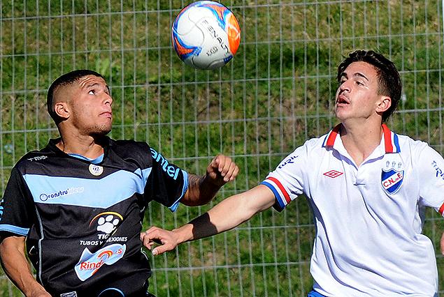 Cerro y Nacional igualaron 2:2 en el partido de Sub 19 (Cuarta División).