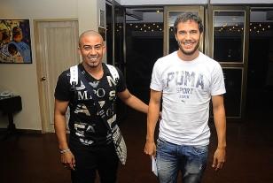Arévalo y González arriban al hotel Los Tajibos a las 22.30