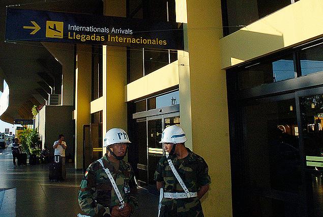 """Aeropuerto """"Viru Viru"""" de Santa Cruz de la Sierra."""