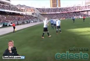 Camara Celeste. Gol de Godín ante Bolivia