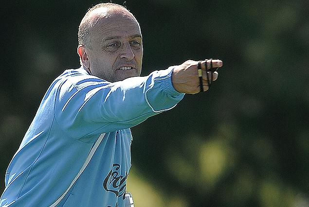 Fabián Coito, técnico de la selección sub 17 que ya trabajó en tierras mendocinas.