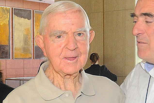 Andres Prieto, hoy, a los 84 años, en el Hotel Sheraton.