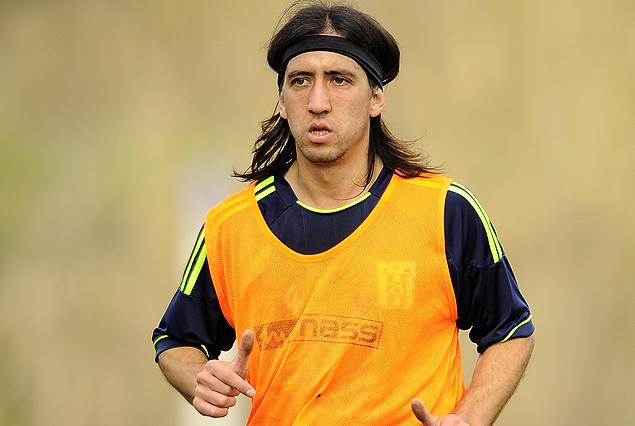 Gonzalo Aguilar comenzó a hacer fútbol en Racing.