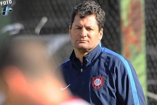 "Claudio ""Pampa"" Biaggio, DT de San Lorenzo."