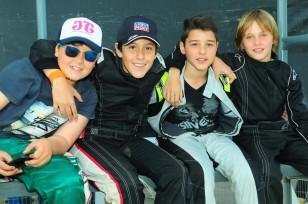Cadetes:  Pedro Raineri, Nahuel Santos, Alexis Silva y Juan Ignacio Teske